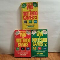 HOW to win at Nintendo games 1-3  - Jeff Rovin - Vintage - Tips Strategy Codes