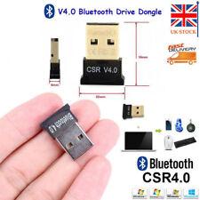 Mini USB Bluetooth 4.0 Adapter CSR Wireless Dongle EDR for PC Laptop Win7 8 10XP