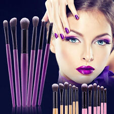 6pcs Set de brochas de maquillaje cepillos sombra de ojos Pincel cejas Brush