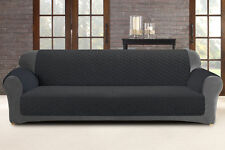 Custom Fit 3 Seater Sofa Protector - Slate