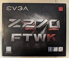 EVGA Z270 FTW K, LGA 1151, Intel Z270, HDMI, SATA 6Gb/s (132-KS-E277-KR) #EB5568