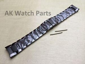 Two-Tone Ceramic Strap Fits Emporio Armani AR1451/AR1474 Band/Bracelet/Link