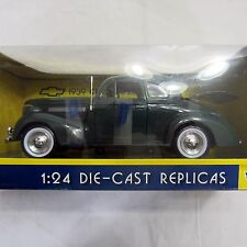 1939 Chevy Coupe Green Motor Max #73200 1/24 Scale Diecast Model Toy Car
