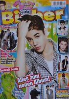 JUSTIN BIEBER - Picture Star Magazin 04/2012 + XXL Poster - Clippings Sammlung