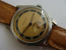vintage 1930s art deco S Steel gents swiss sports watch.Good quality.