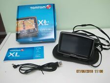 TomTom XL 335-T portable GPS plus accessories