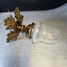 💡 PLAFONNIER SUSPENSION LUSTRE en bronze OBUS