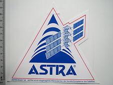 Pegatina Sticker TV televisión sat Astra (m1874)
