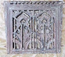 1900s Ventilation Grate British India Architectural Concrete fit cast Iron Jali