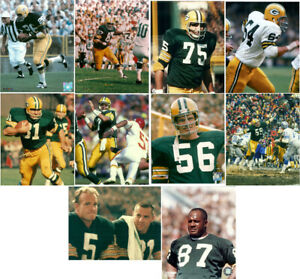10 Green Bay Packers 8x10 Photos Jim Taylor Willie Davis Forrest Gregg