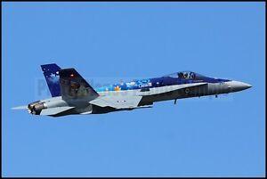 RCAF CF-18 / F-18 Hornet Atlantic Air Show Moncton 2014 8x12 Photos