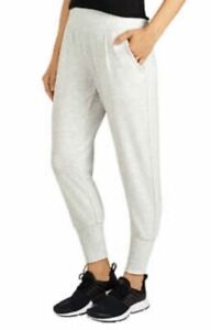 Danskin Women's Slim Tapered Jogger Color Oatmeal Heather Size Small NWT