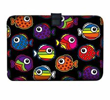 """Luxburg 11"""" - 13"""" Ultra Slim Sleeve Soft Case Cover for MacBook Air Retina Coloured Fishes 30 5 Cm (12 Zoll) Notebook"""