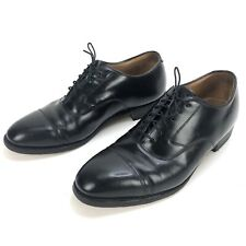 Johnston Murphy Optima Black Leather Dress Oxford Shoe Mens Size 8 D