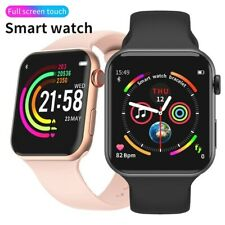 New Wrist Smart Watch FULL TOUCHSCREEN ECG Health Tracker Bluetooth Android iOS