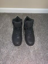 Timberland Men's Black Hiking Work Boots Mid Size 10 Pre-Owned