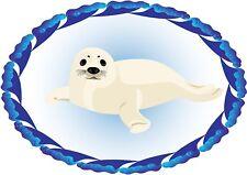 Aufkleber ROBBE Seehund Heuler maritime Sticker füs Auto Autoaufkleber Boot LKW