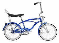 "Micargi 20"" Lowrider Beach Cruiser Bicycle Bike Low Rider 12"" frame Blue"