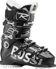 """ROSSIGNOL Alias 80 All-Mountain Ski Boots Size 31.5 BLACK 104mm """"Wide"""" Fit NEW"""