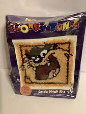 Looney Tunes Latch Hook Rug Kit Taz Tazmanian Devil New