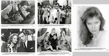 OCTOPUSSY - JAMES BOND / 007 - FIVE RARE AMERICAN BLACK AND WHITE MOVIE STILLS