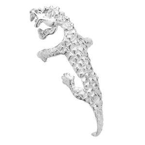 Sterling Silver Dragon Ear Cuff