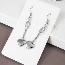 Hakenverschluss Mode-Ohrschmuck ohne Stein mit Herz-Schliff