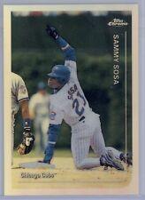 1999 Topps Chrome Sammy Sosa Refractor #66 Cubs SP