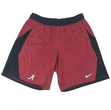 New Nike Alabama Crimson Tide Fly Knit Short Men's Large Red Black 908377 $50