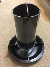 Coffee Pod Holder Black Capsule Dispenser Plastic Organiser Nespresso Stand Desk