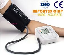 TENSIOMETRO PULSOMETRO DIGITAL BRAZO Arm Blood Pressure Monitor Tensiometer HOT