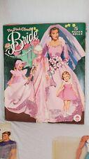 vintage the pink cloud bride paperdoll Merrill #1558 - clothes (bx)