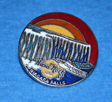 HARD ROCK CAFE 1996 Niagara Falls USA Round Maid of the Mist Sunset Pin # 11656
