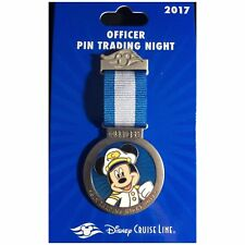 Disney Pin Cruise Line Trading Night Exclusive 2017 Mickey Mouse Officer DCL