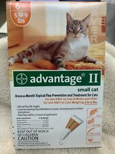 Bayer Advantage Ii Flea Eggs Larvae Tick Treatment for Small Cat 5-9 lbs 6 Doses