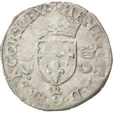 Monnaies, Henri II, Douzain aux croissants, 1551, Saint-André de #32997