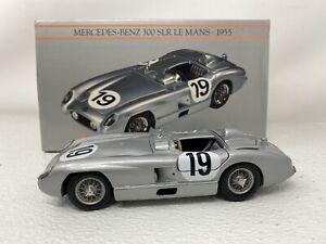 1/24 Minichamps First Class 1955 Mercedes Benz 300 SLR LeMans Fangio #19 READ