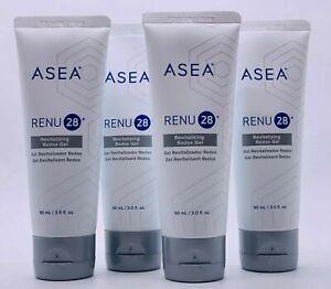 ASEA RENU28 Revitalising Gel 90mlx4 Cell Tech Breakthrough Anti-aging