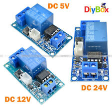 DC 5V 12V 24V 1-Channel Latching Relay Module With Touch Bistable Switch MCU DIY
