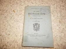 1870.Le pape Honorius lettre à Gratry.Chantrel