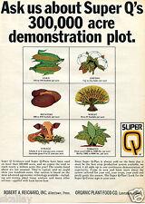 1968 Print Ad of Super Q Farm Fertilizer Q-Plan