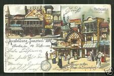 Johannesburg Shops Transvaal Exposition South Africa 1897 stamp