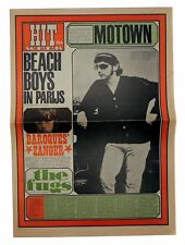 HITWEEK Magazine No 8 November 11, 1966 The Fugs Beach Boys Them Tamla Motown