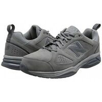 New Balance Homme MX624GR4 Daim Gris 2E Large Baskets