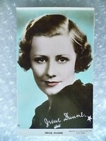 Real Photo Postcard- IRENE DUNNE, American film Actress and Singer
