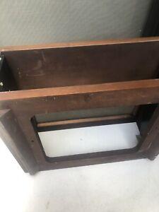 Mcintosh wood cabinet with panlocks for mc 24,26,28 mr 67,71 parts