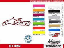 Alpinestars - 30 x 100mm Aufkleber, Sticker, Motorsport, Autocollat, Étiquette