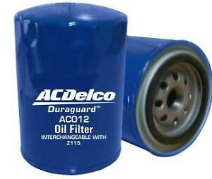 Oil Filter ACDelco AC012 for Nissan Datsun 1600 180B 200B 240C 240K 240Z 260C