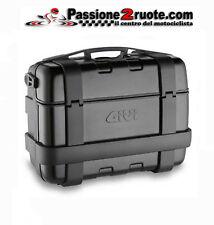 Valigia bauletto Monokey moto Suitcase Trunk Givi TRK33B Trekker 33 nero black