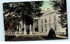 *1912 White House Virginia Freestone Washington DC Vintage Old Postcard B66